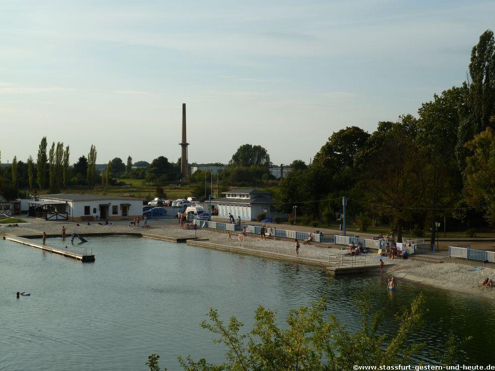 Staßfurt Schwimmbad stassfurt gestern und heute