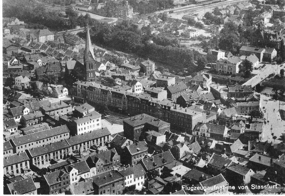 Stassfurt - gestern und heute
